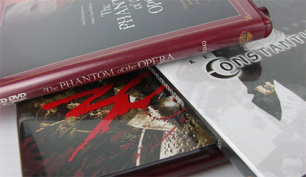 Phantom Of The Opera, 300, and Constantine on HD DVD