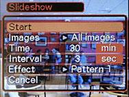 Casio EX-Z120 Slideshow