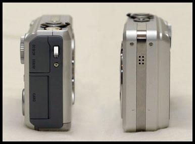 Casio EX-Z120 Sides