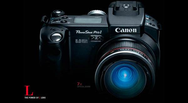 Canon 8MP Powershot Pro 1