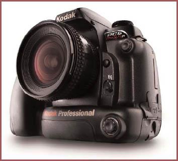 Kodak Announces DCS Pro SLR/n