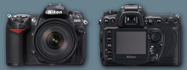 Nikon 10.2MP D200