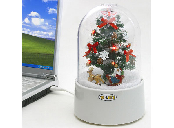 e-Let's USB Christmas Tree