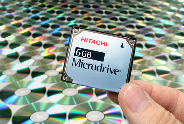 Hitachi Microdrive 3K6 / 3K8