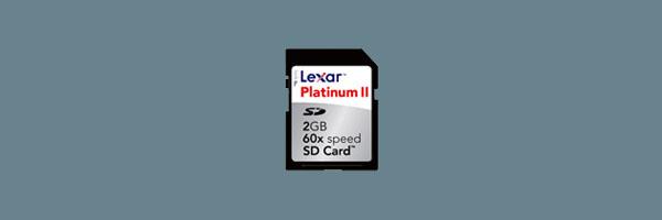 Lexar Platinum II Media