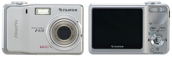 Fujifilm 6MP F470 With 2.5-Inch LCD