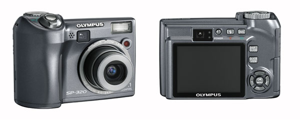 Olympus E-330 DSLR With Live Preview