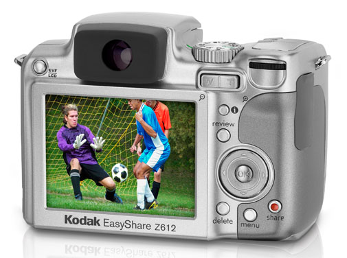 Kodak Easyshare Z612 With 12x Optical Zoom