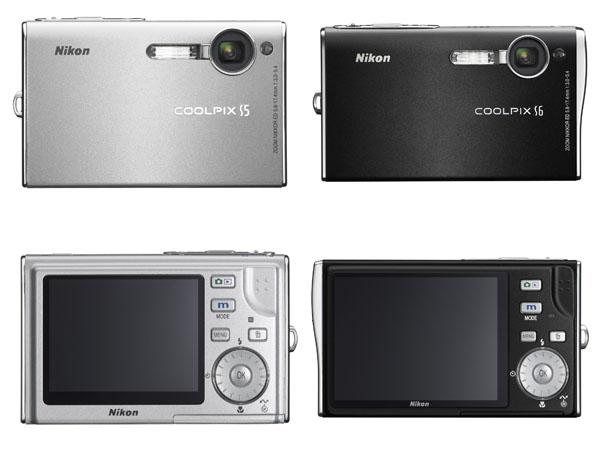 Nikon COOLPIX S5 & S6