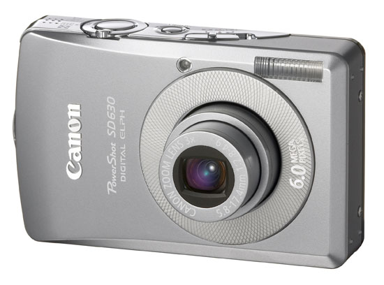 Canon PowerShot SD630 Digital ELPH camera