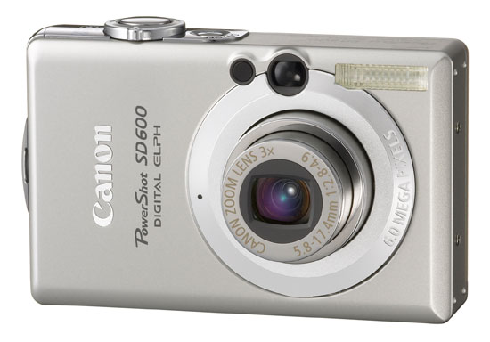 Canon PowerShot SD600 Digital ELPH camera