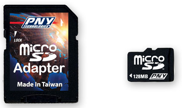 PNY Technologies MicroSD with Adapter