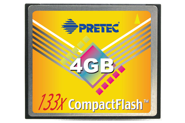 Pretec 133x CompactFlash