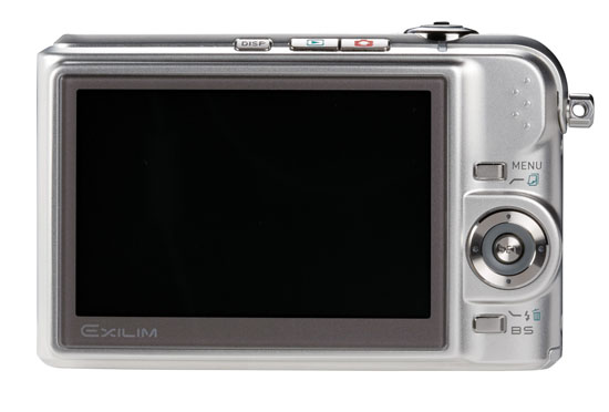 The Back Of The Casio EXILIM EX-Z1000 10.1 Megapixel Digital Camera