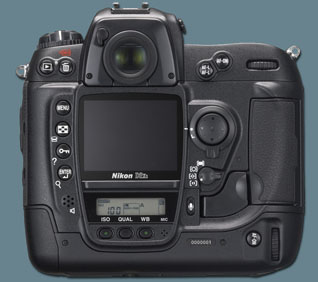 Nikon D2xs - Back