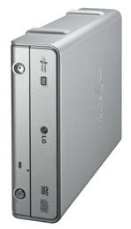 LG Electronics GSA-5169D Super-Multi External Drive - Side View