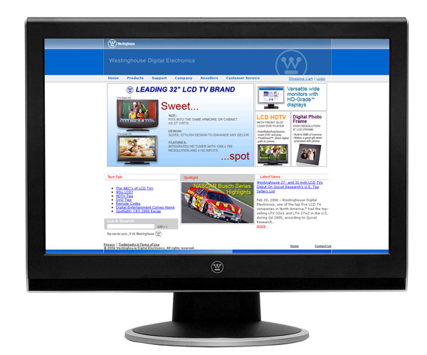 Westinghouse LCM-22w2 22-Inch Widescreen LCD Monitor