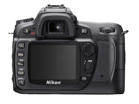 Nikon D80 - Back