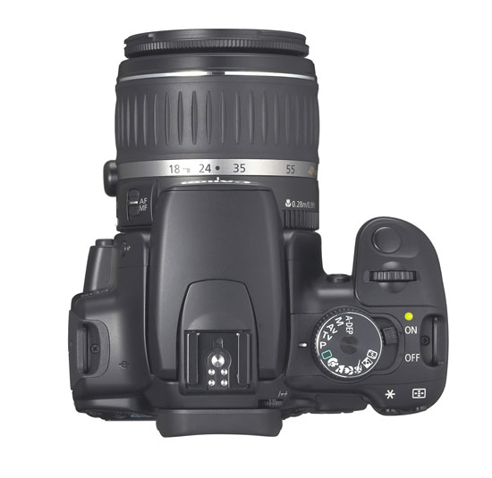 Canon Rebel XTi (400D) - Top View