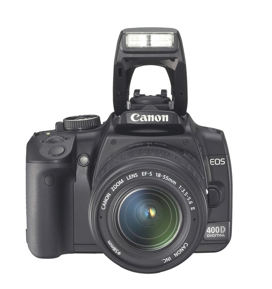 Canon Rebel XTi (400D) - Flash Up