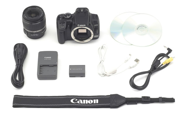 Canon 10.1MP Rebel XTi (400D) 18-55mm Kit