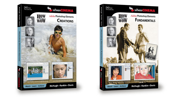 Software Cinema Announces New Adobe Elements Training Disc Series