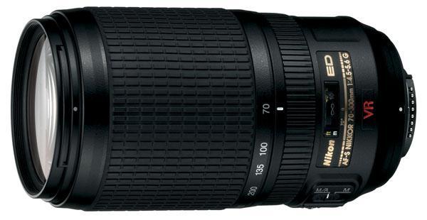 Nikon 70-300MM F/4.5-5.6G ED-IF AF-S VR Zoom-Nikkor Lens