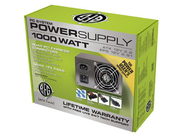 BFG 1000 Watt PSU