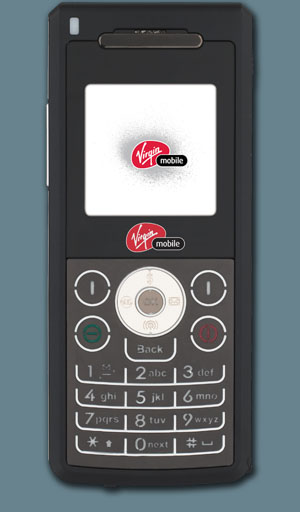 UTStarcom's SLICE PCS-1400 Mobile Phone