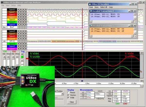CWAV'S USBEE DX Test Pod