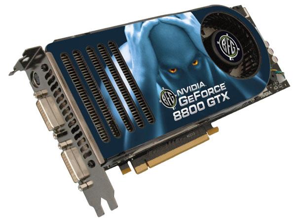 BFG 8800 GTX 768MB PCI Express