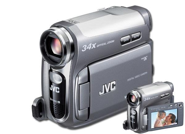 JVC GR-D750 Mini-DV Camcorder