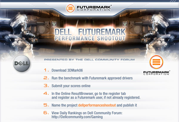Dell/Futuremark Sponsor Performance Shootout