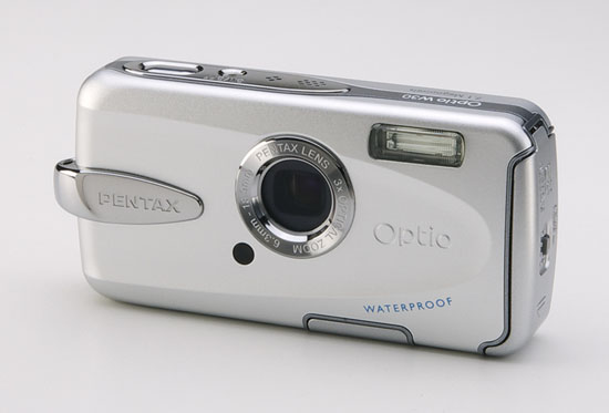 PENTAX Optio W30 - Front