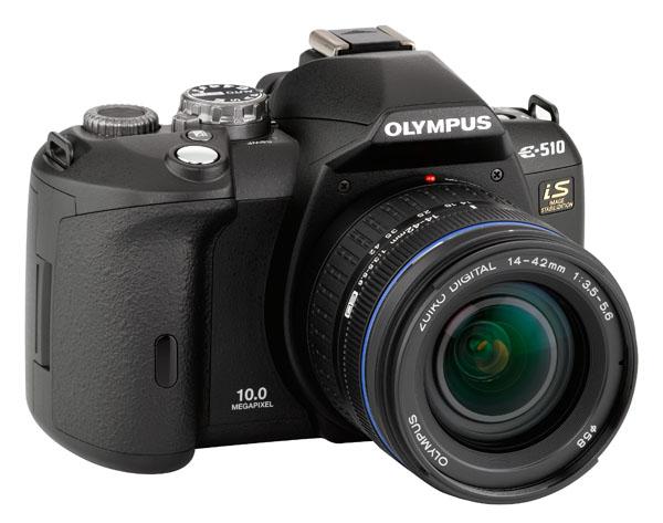 Olympus E-510 10MP DSLR