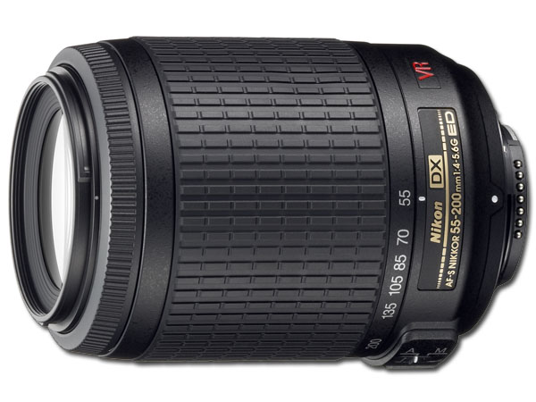 Nikon 55-200mm f/4-5.6G IF-ED AF-S DX VR Zoom-Nikkor