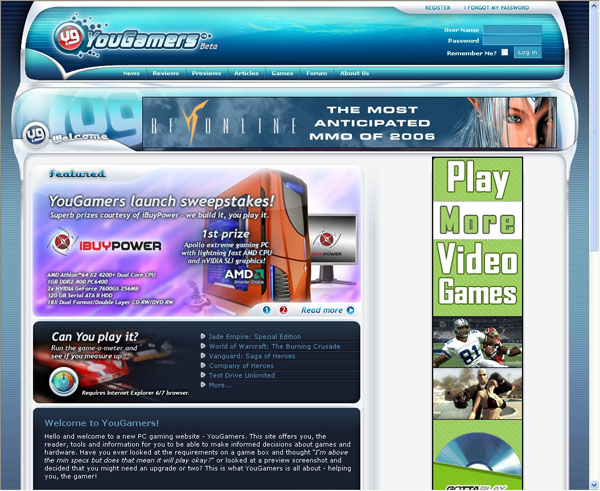 Futuremark's YouGamers.com