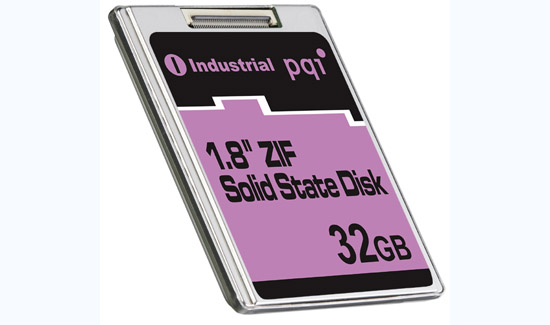 PQI 32GB 1.8-Inch ZIF SSD