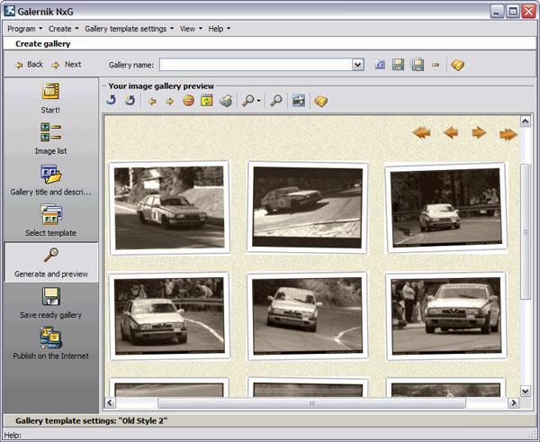 PixExpose - Screenshot courtesy of CreamSoft