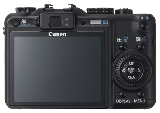 Canon PowerShot G9 - Back View