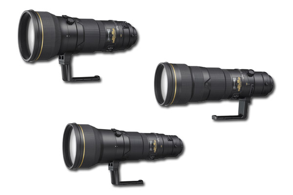 Nikon's New 400mm, 500mm, and 600mm Telephoto Lenses