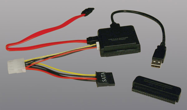 USB 2.0 SATA/IDE Combo Adapter