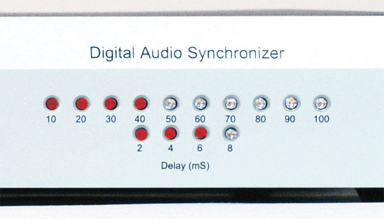 VZ-S5100 5x1 HDMI Switcher and Digital Audio Synchronizer - Front