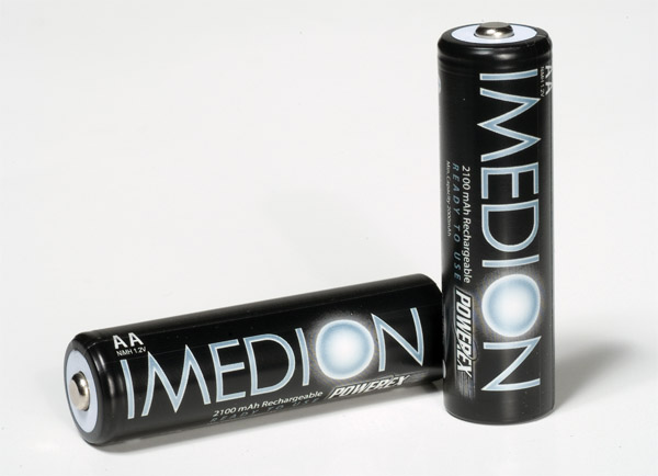 Maha Energy IMEDION Rechargeable Batteries