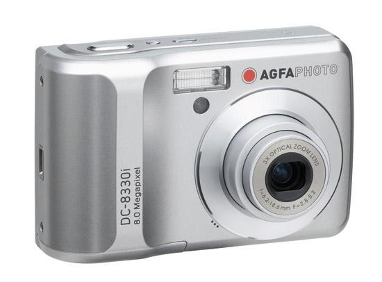 plawa AgfaPhoto DC-8330i digital camera - Front
