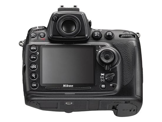 Nikon D700 - Back