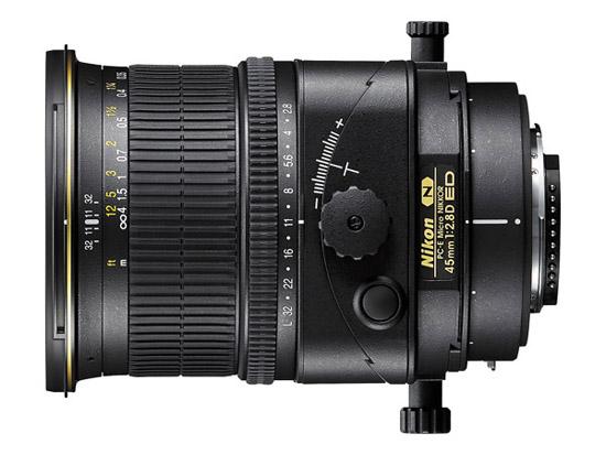 Nikon PC-E Micro NIKKOR 45mm f/2.8D ED: $1,799.95