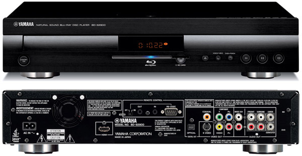 Yamaha BD-S2900 Blu-ray Disc Player