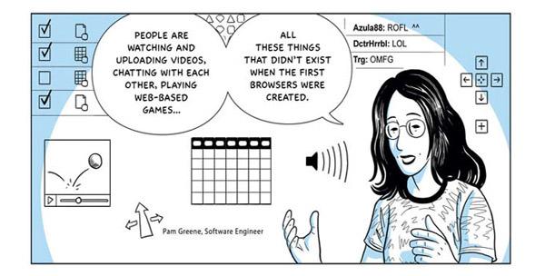 Google Chrome Comic Book Presentation