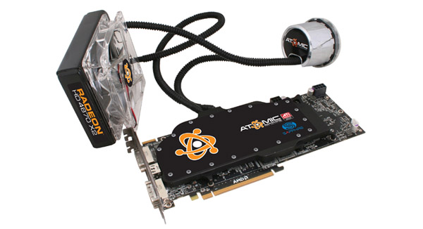 Asetek Liquid Cooling Solution For Sapphire Atomic HD 4870 X2